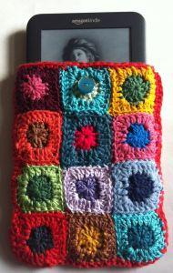Crochet Kindle cover