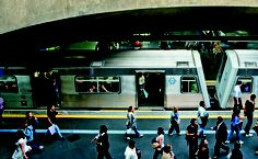 Estação Sé do metrô, São Paulo.
