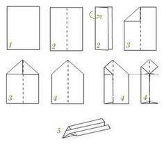 Como hacer aviones de papel que vuelan mucho y de COLECCION - Taringa!