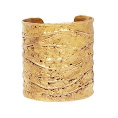 Gold goes graphic this season, as cuffs take on a new look with these textured pieces. Or Martelé, Lanvin, Aurelie Bidermann, Going For Gold, Art Necklaces, Hammered Gold, Cuff Bracelets, Bangle, Diamond Are A Girls Best Friend