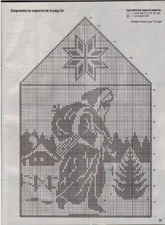 dekoracje do domu z netu - Mirka Bień - Picasa Web Albums Filet Crochet Charts, Crochet Borders, Crochet Stitches Patterns, Counted Cross Stitch Patterns, Cross Stitch Charts, Crochet Curtains, Crochet Doilies, Blackwork Patterns, Fillet Crochet