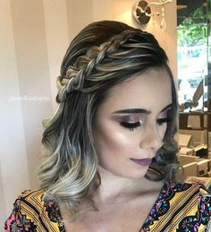 Top 60 All the Rage Looks with Long Box Braids - Hairstyles Trends Prom Hairstyles For Short Hair, Braids For Short Hair, Box Braids Hairstyles, Short Hair Cuts, Wavy Hair, Wedding Hairstyles, Hairstyles 2018, Blonde Hair, Gorgeous Hairstyles