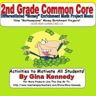 """This is a must have for any 2nd grade common core classroom. Nine creative differentiated """"money"""" math projects that coorelate with the following s..."""