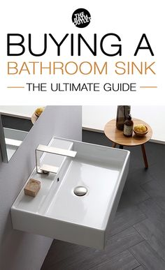 Buying a Bathroom Sink in 2018 (The Ultimate Guide) Wall Mounted Bathroom Sinks, Bathroom Storage, Bathroom Ideas, Mirror Border, Sink In, Storage Design, Home Repair, Amazing Bathrooms, Cool Stuff