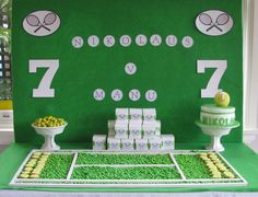 Tennis Party Dessert Table