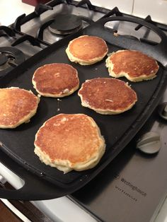My dream fluffy pancakes thanks to http://realmomkitchen.com/1425/fluffy-buttermilk-pancakes/.