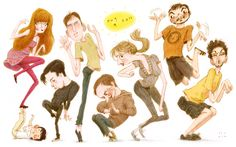 everybody by Seo Kim from Instantdoodles