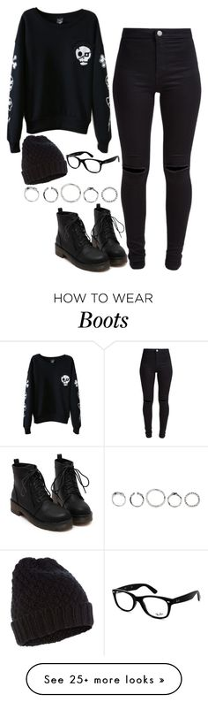 """959."" by adc421 on Polyvore featuring New Look, Accessorize and Ray-Ban"