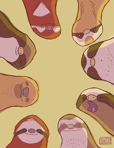 https://www.tumblr.com/search/sloth illustration