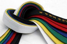 tae kwon do belts