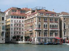Our hotel in Venice, the top is a restaurant where we had breakfast overlooking the Grand Canal every morning. Sigh