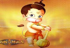 Free Bal Hanuman Wallpaper your Desktop Hanuman Images Hd, Hanuman Ji Wallpapers, Bal Hanuman, Ganesh Lord, Hanuman Lord, Religious Wallpaper, Little Krishna, Baby Krishna