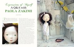 Art Doll Quarterly - very fun, whimsical yet sophisticated handmade dolls, etc.