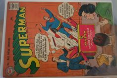 1957 Silver Age Superman Comic Book Issue #111 by pasttimejewelry