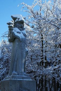 In the Czech mythology, Radegast is the Slavic God of hospitality and mutuality. According to the legend, he is credited for the creation of beer. Radhošť, mountain Beskydy, Czechia