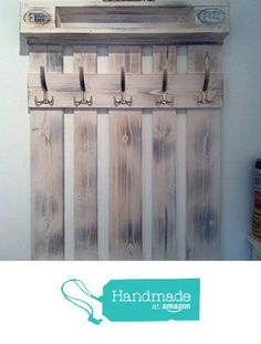 Garderobe aus Europalette Unikat in Wunschfarbe von der Holzkopp https://www.amazon.de/dp/B01K32T10E/ref=hnd_sw_r_pi_dp_g5MyybZ3GBV4J #handmadeatamazon