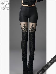 Warm Macbeth leggings | Gothic, Steampunk, Rock, Fetish, and other Alternative fashion retail and wholesale apparel & accessories