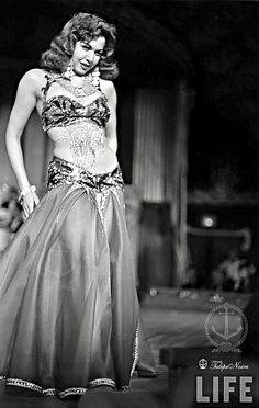 Samia Gamal In Miami - March 1952 (E) by Tulipe Noire, via Flickr
