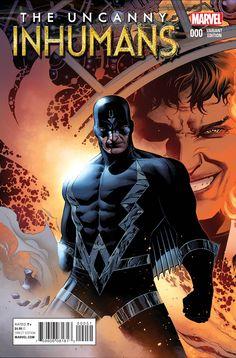 Uncanny Inhumans | Black Bolt