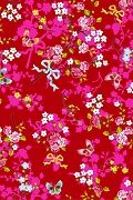 PiP+Chinese+Rose+Red+wallpaper+|+PiP+Studio+©
