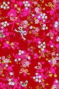 PiP Chinese Rose Rood behang | PiP Studio ©