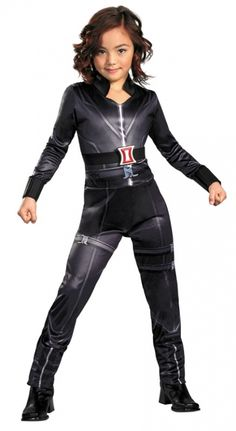 Avengers Black Widow Costume- THIS is what natalie wants to be for halloween...