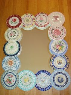Mosaic Mirror  Multi Colored by AnneReaDesigns on Etsy, $400.00