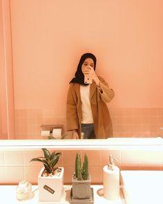 Hijab Casual, Hijab Outfit, Ootd Hijab, Girl Hijab, Street Hijab Fashion, Muslim Fashion, Fashion Outfits, Muslim Girls, Muslim Women