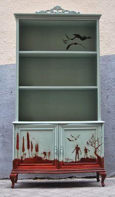 El mueble de los muertos vivientes