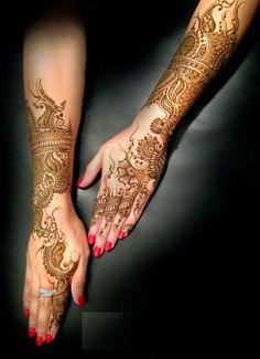 Pakistani Eid Mehndi Designs 2014