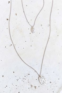 Hammered High/Low Necklace - Urban Outfitters
