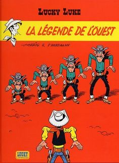 La Légende de l'Ouest est la cent-neuvième histoire de la série Lucky Luke par Morris et Patrick Nordmann. Elle est publiée pour la première fois en album en 2002. https://fr.wikipedia.org/wiki/La_L%C3%A9gende_de_l%27Ouest