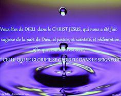 Nous sommes de DIEU. La nouvelle vie du croyant provient de DIEU en CHRIST , auquel nous devons notre rédemption et notre relation intime avec DIEU. Merci à TOI JÉSUS , notre SAUVEUR !  Sois glorifié !                                           *  *  *          Très bonne soirée et belle nuit à tous. A demain, DIEU voulant. ♥  Claudine Michau - Google+