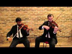 (36) Jesus Alegria dos Homens  - Bach - Grupo Audium - 2 Violinos - YouTube