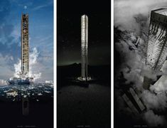 North Pole Skyscraper: A Trading Post for the World's Freight Industry
