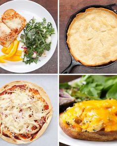 4 Easy Rotisserie Chicken Dinners