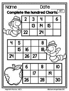 Mega Math Practice {Through the Year} First Grade First Grade Math Worksheets, 1st Grade Math, Grade 1, Mega Math, Teaching Math, Maths, Math Games, Math Activities, Line Math