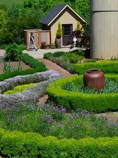 The Knot Garden at Red Ridge