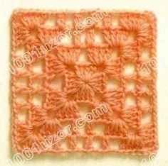 Lots of diagrams Crochet Poncho Patterns, Granny Square Crochet Pattern, Crochet Blocks, Crochet Squares, Crochet Motif, Crochet Stitches, Love Crochet, Diy Crochet, Crochet Baby
