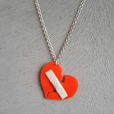necklace polymerclay