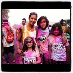 Tips for our Color Run 5k in October.
