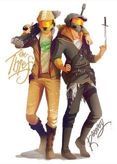 The Thief and Recovery by Synnesai.deviantart.com on @deviantART