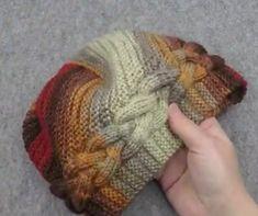 Chevron Crochet, Bead Crochet, Filet Crochet, Crochet Hats, Knit Headband Pattern, Knitted Headband, Cable Knitting, Knitting Videos, Knitted Hats Kids