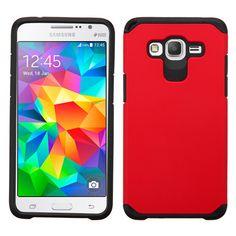 MYBAT Samsung Galaxy Grand Prime Neo Astronoot Case - Red/Black