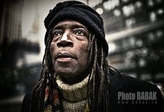 Street light Portrait - BABAK Photo