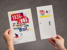 Secours Populaire Français, par l'Atelier de Création Graphique