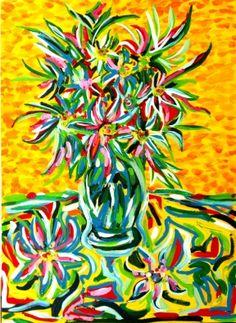 A Cor da Flor by Camilla Pallavicini. A partir de R$590,00. www.democrart.com.br