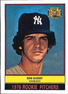 2001 Topps Archives #300 Ron Guidry Front