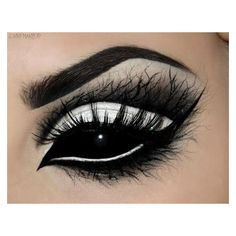 Impress Everyone You Meet This Halloween Night With These 10 Eerie Eye... ❤ liked on Polyvore featuring beauty products, makeup and eye makeup