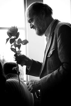"""A need to concentrate on each sound, so that every blade of grass would be as important as a flower."" ~ Arvo Pärt"